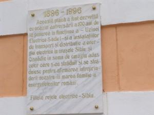 placa comemorativa CHE-mp Sadu I (1)